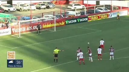 Em jogo com apagão, Patrocinense arranca empate com Tombense fora de casa