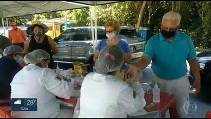 São Sebastião faz teste da Covid-19 em turistas