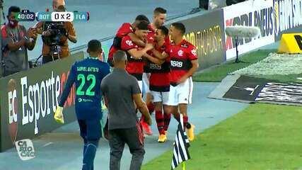 Melhores momentos de Botafogo 0 x 2 Flamengo pela 5º rodada do Campeonato Carioca