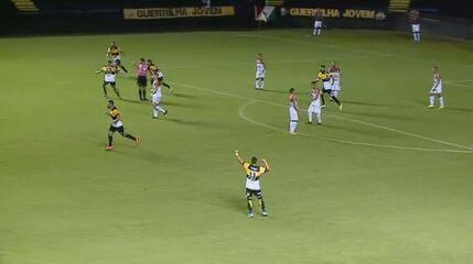 Criciúma 2 x 2 Brusque: Assista aos gols da partida