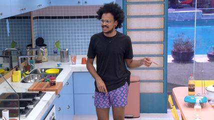 João Luiz declara: 'Curto todas as festas do programa, como se fosse a minha última'