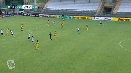 Melhores momentos: Vasco 2 x 2 Madureira, pela 6ª rodada do Campeonato Carioca