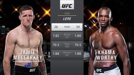 UFC 260 - Jamie Mullarkey x Khama Worthy