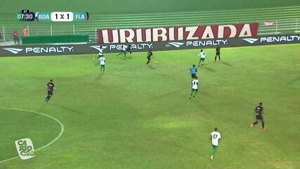 Melhores momentos: Boavista 1 x 1 Flamengo, pela 6ª rodada do Campeonato Carioca