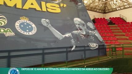 Depois de 12 anos e 39 títulos, Marcelo Mendez dá adeus ao Cruzeiro