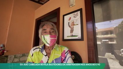 Ex-juiz Cabelada revela bastidores da arbitragem nos anos 80 e 90
