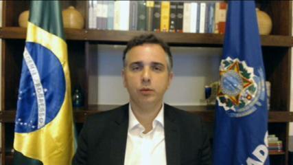 Ataque de Ernesto Araújo a Kátia Abreu é ataque a todo o Senado, diz Pacheco