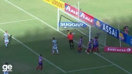 Os melhores momentos de Bahia 5 x 0 Altos pela 6ª rodada da Copa do Nordeste 2021