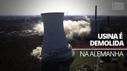 Explosivos são usados para demolir usina de energia na Alemanha