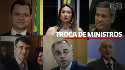 Veja as novas trocas de ministros do governo Bolsonaro após saída de Ernesto Araújo