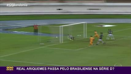 Cronistas analisam chance do Real Ariquemes contra o Brasiliense na Série D 2021