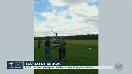 Veja o momento em que traficante de Ribeirão Preto é preso em Rio Claro, SP