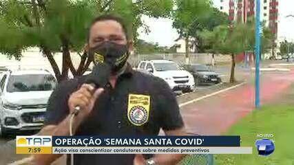 Detran e PRF intensificam ações na semana santa