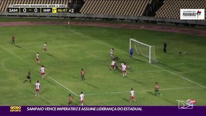 Sampaio Corrêa 2 x 0 Imperatriz, Campeonato Maranhense