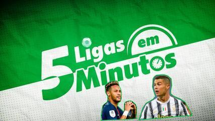 5 ligas em 5 minutos: Neymar on de novo no PSG e Cristiano Ronaldo tenso na Itália