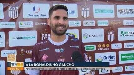 Com gol à la Ronaldinho Gaúcho, Patrocinense vence Boa Esporte pelo Mineiro