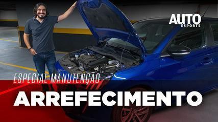 Como ver o nível do fluido de arrefecimento do motor?