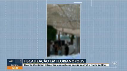 Covid-19: Guarda Municipal intensifica operações em Florianópolis