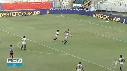 Bahia perde por 2 a 1 para o Fortaleza pela Copa do Nordeste; veja