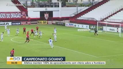 Atlético-GO vence o Itumbiara pelo Campeonato Goiano