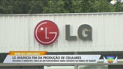 LG vai encerrar operações no mercado de celulares, e medida deve afetar fábrica de Taubaté