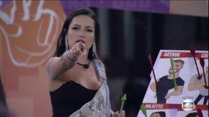 Jogo da Discórdia: Juliette indica quem é o melhor jogador, quem é o pior e quem joga sujo