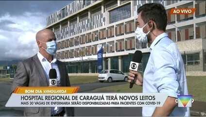Hospital Regional de Caraguatatuba amplia leitos para Covid-19