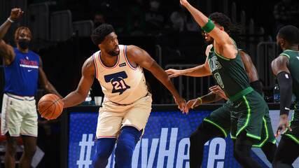 Melhores momentos de Boston Celtics 96 x 106 Philadelphia 76ers pela NBA
