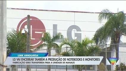 LG vai encerrar produção em Taubaté
