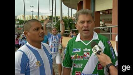 Em 2013, Tuna e Paysandu empatavam pela 6ª rodada do 2ª turno do Parazão