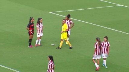 Os gols de Sport x Náutico, final do Pernambucano Feminino