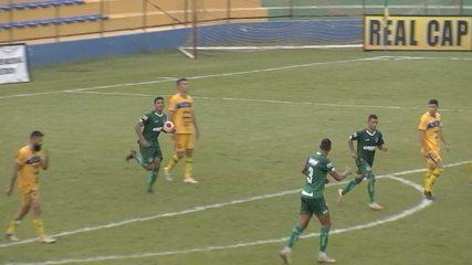 Os gols do empate entre Iporá e Goiás por 1 a 1