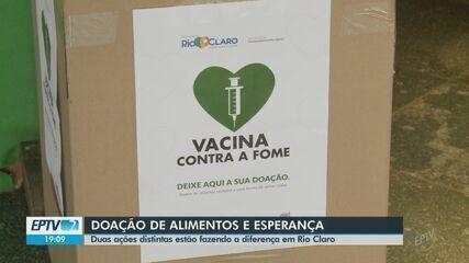 Rio Claro aderiu à campanha 'Vacina Sem Fome' de arrecadação de alimentos