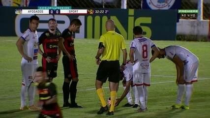 Melhores momentos de Afogados 0 x 0 Sport, pelo Pernambucano