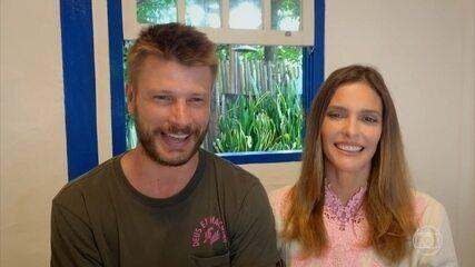 Fernanda Lima e Rodrigo Hilbert estreiam programa 'Bem Juntinhos' no GNT