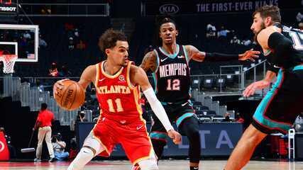 Melhores momentos: Atlanta Hawks 113 x 131 Memphis Grizzlies pela NBA