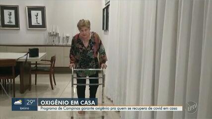 Programa de oxigenioterapia tem aumento de 150% em Campinas