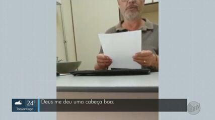 Paciente filma médico recusando uso de máscara durante consulta em Franca, SP
