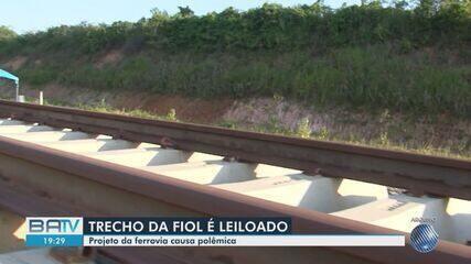 Trecho da Ferrovia Fiol é leiloado no sul da BA; ambientalistas pedem revisão do projeto