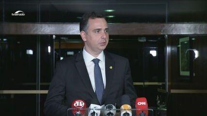 Pacheco sobre CPI da Covid: 'A CPI poderá ser um papel de antecipação de debate político'