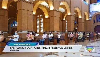 Santuário Nacional de Aparecida volta a ter missas sem presença de fiéis
