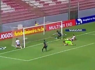 Patrocinense sofre gol no fim e empata com América-MG pelo Campeonato Mineiro