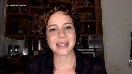 Atriz Leandra Leal fala sobre a volta da novela 'Império'