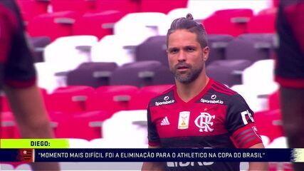Troca de Passes exibe exclusiva com Diego e projeta Flamengo x Palmeiras pela Supercopa
