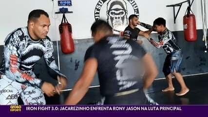 Fabiano Jacarezinho se prepara para enfrentar Rony Jason no Iron Fight