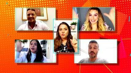 'Sincerão dos BBBs': Gizelly, Fernanda Keulla, Rogério e Rafael