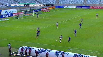 Melhores momentos: Cruzeiro 1 x 0 Atlético-MG, pela 9ª rodada do Campeonato Mineiro