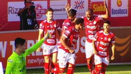 Os gols da vitória do Vila Nova sobre o Goiás por 2 a 1