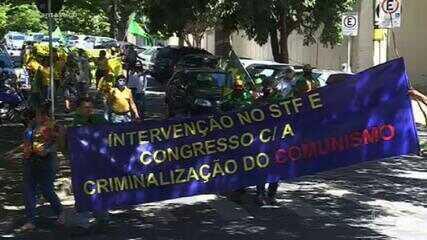 Manifestantes promovem a Marcha da Família Cristã pela Liberdade em 21 capitais e no DF