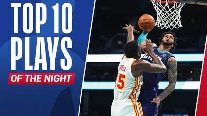 Top 10: As melhores jogadas deste domingo na NBA
